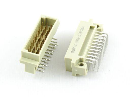 9001-15 | DIN 41612 1/3C Type Male