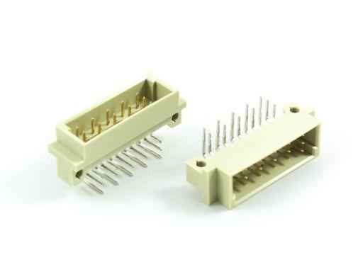 9001-25 | DIN 41612 1/3C Type Male 5.08mm