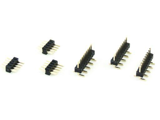 2211-1   Pin Header 1.27mm Insulator 1.7mm