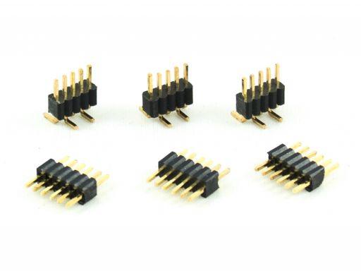 2212-1   Pin Header 1.27mm Insulator 2.50mm