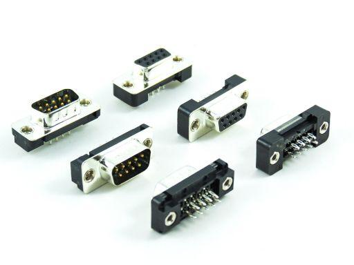 7905 | D-SUB Straight Press Fit Type
