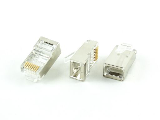 8949-A88 | Shield Modular Plug 8P8C For Round Cable