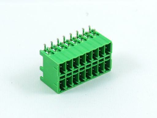 8930-C133152 | 3.50mm Terminal Block Male R/angle Double Port