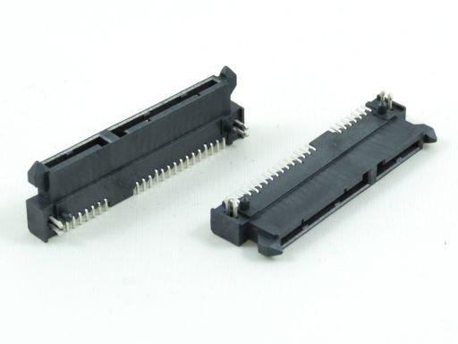 7904-22FC15DB1U | Series ATA 7+15P Female SMD R/angle (Reverse)